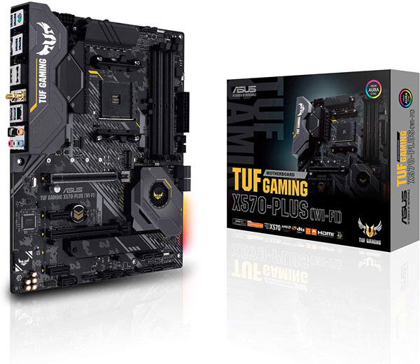 Asus-AM4-TUF-Gaming-X570-Plus-Wi-Fi-AM4-Zen-3-Ryzen-5000-3rd-Gen-Ryzen-ATX-Motherboard