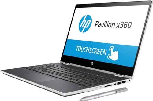 """2. HP Pavilion x360 14"""" HD Touchscreen"""