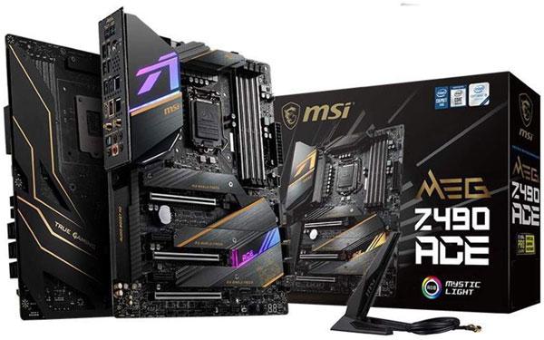 MSI MEG Z490 ACE – Best Gaming Motherboard for i9 10900K