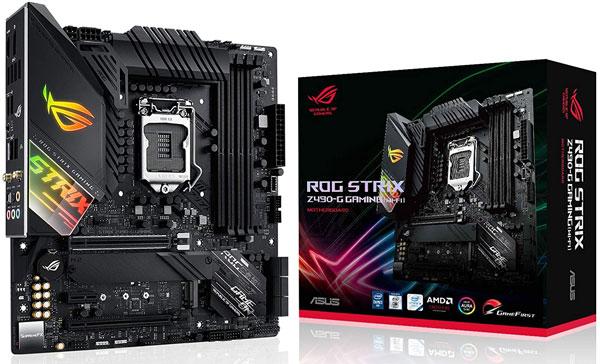 2. ASUS ROG Strix Z490-G Gaming - Best Motherboards for i9 10900k