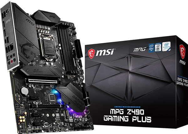 MSI MPG Z490 Gaming Plus - Best Motherboards for i9 10900k