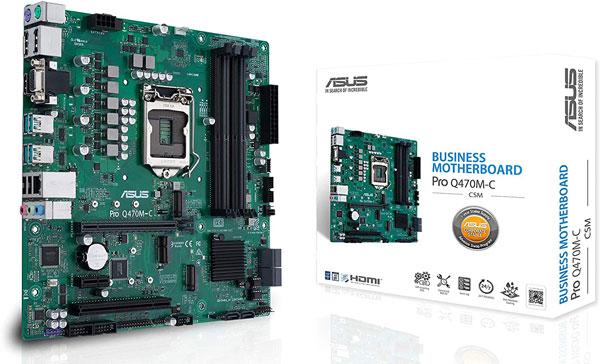 ASUS PRO Q470M-C-CSM LGA1200