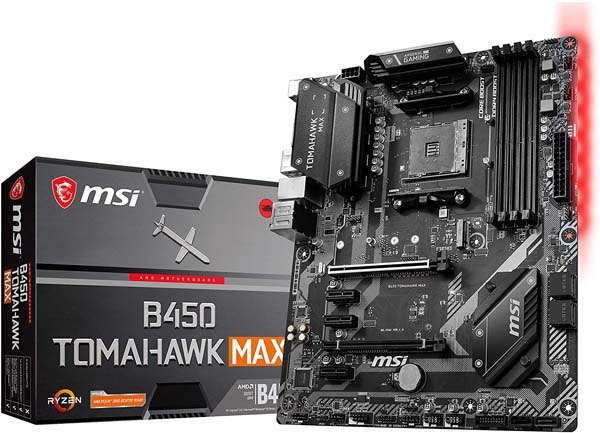 Best Budget Motherboard for Ryzen - MSI B450 TOMAHAWK MAX