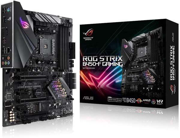 Best Budget B450 Motherboard-Asus ROG STRIX B450-F GAMING
