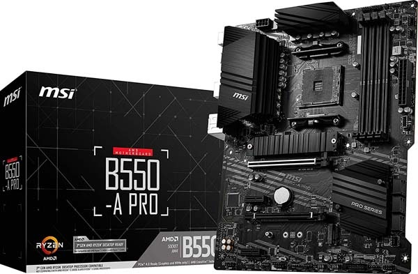 Best Performance B550 Motherboard-MSI B550-A PRO ProSeries Motherboard