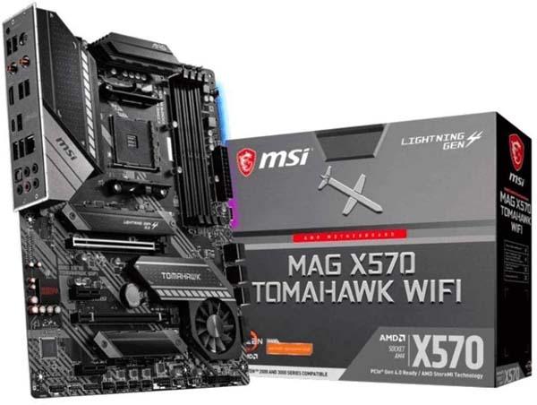Best Motherboard for Ryzen 5 3600 - MSI MAG X570 TOMAHAWK WIFI